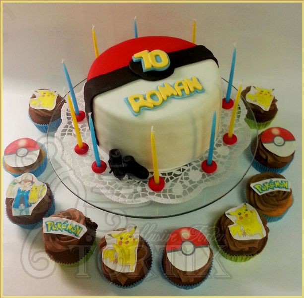 tortix torte und cupcakes pokemon. Black Bedroom Furniture Sets. Home Design Ideas